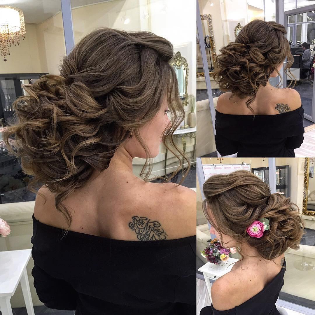 35 Romantic Wedding Updos For Medium Hair
