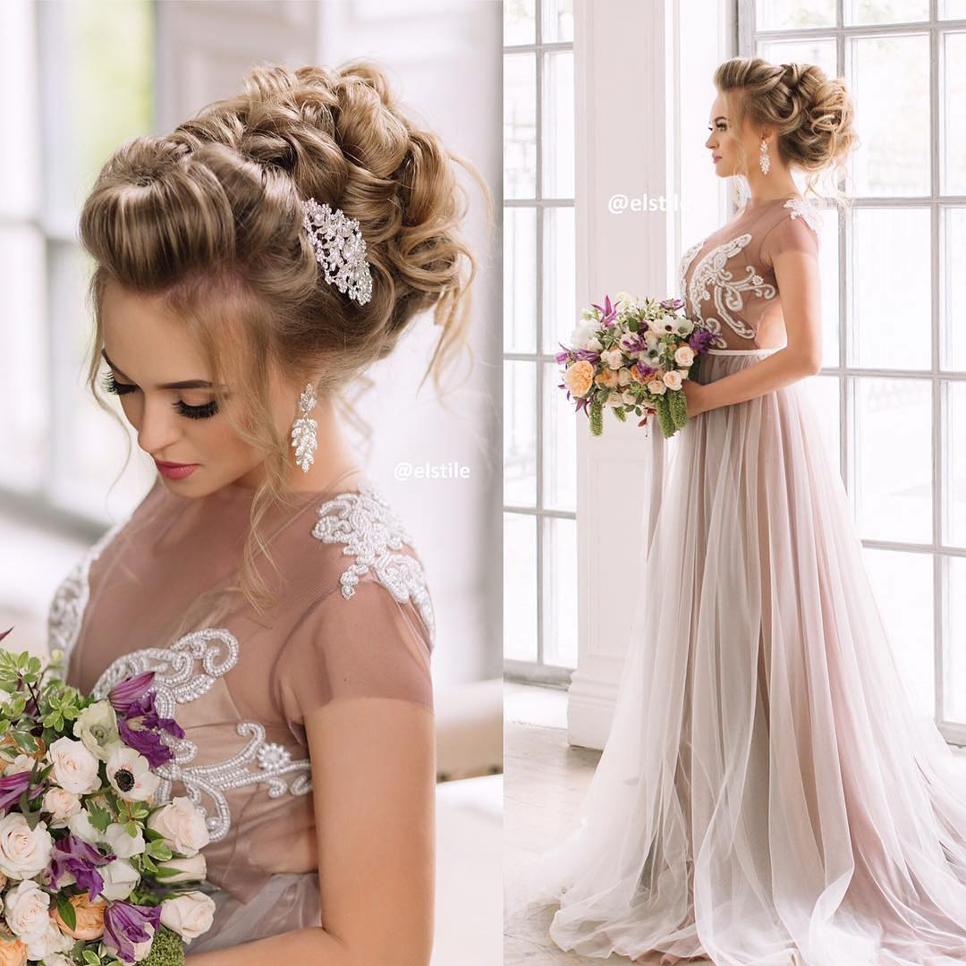 Wedding Hairstyle Ringlets: Wedding Hairstyles For Long Hair: Half Up, Half Down