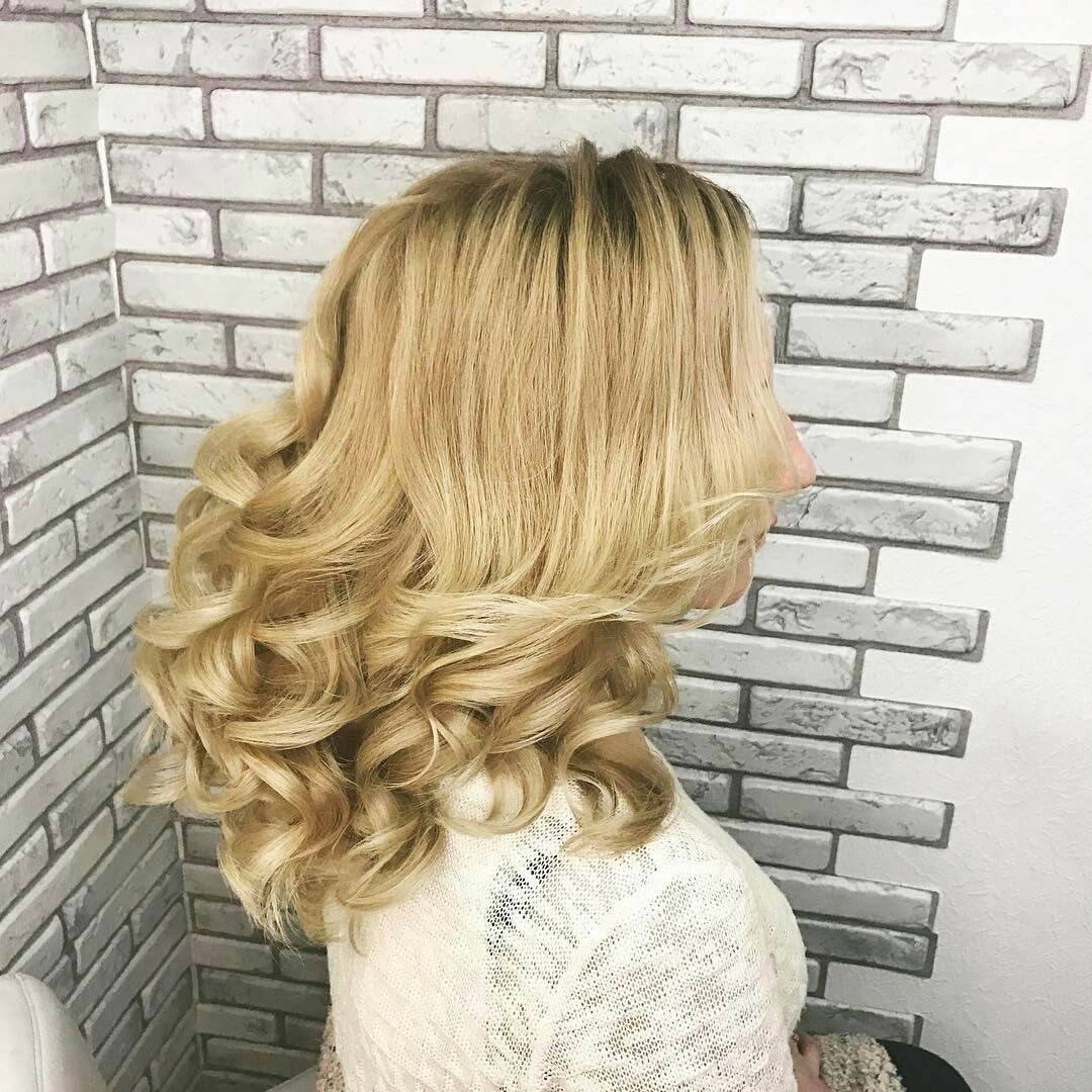 Loose Curls For Medium Hair How To Curl Medium Length Hair Ladylife