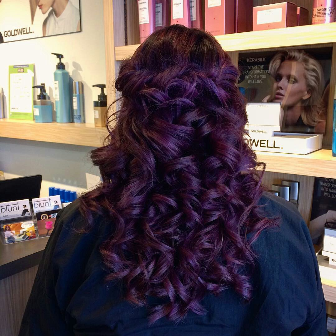 Purple Hair How To Dye In