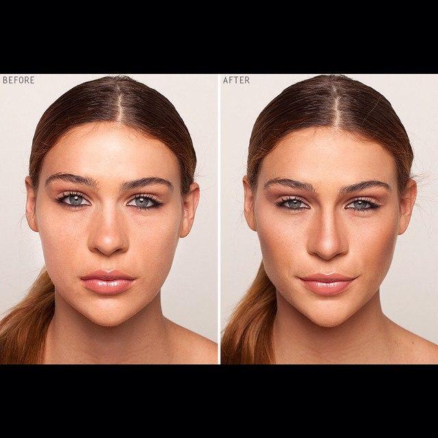 Как сделать точеное лицо