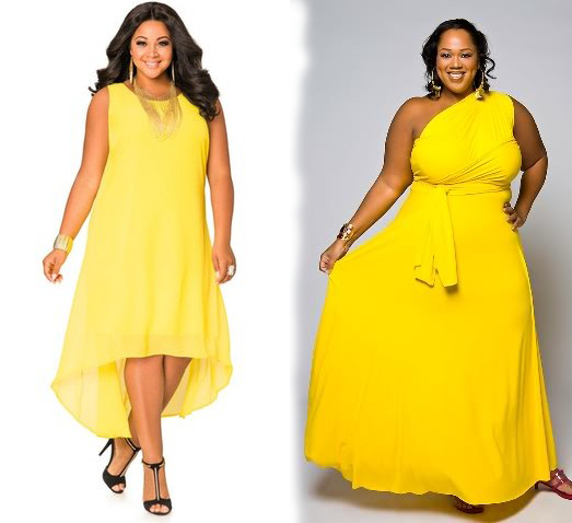 Yellow cocktail dresses with sleeves