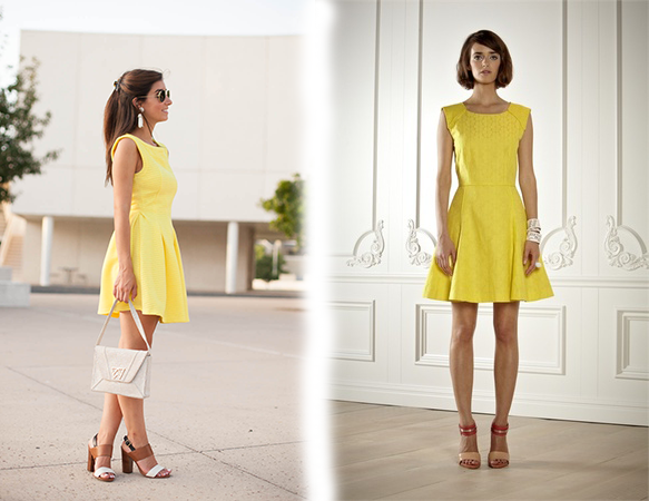Yellow Dresses: What to Wear With Yellow Dress