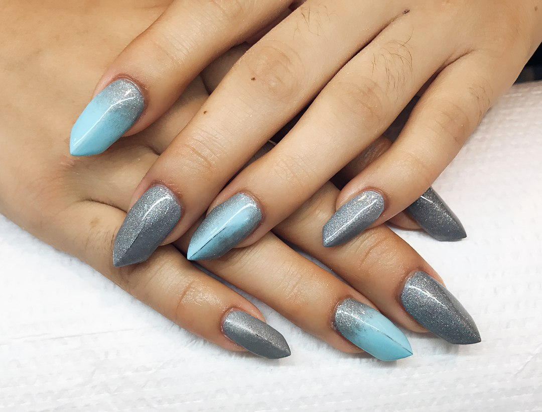 edge shaped nails