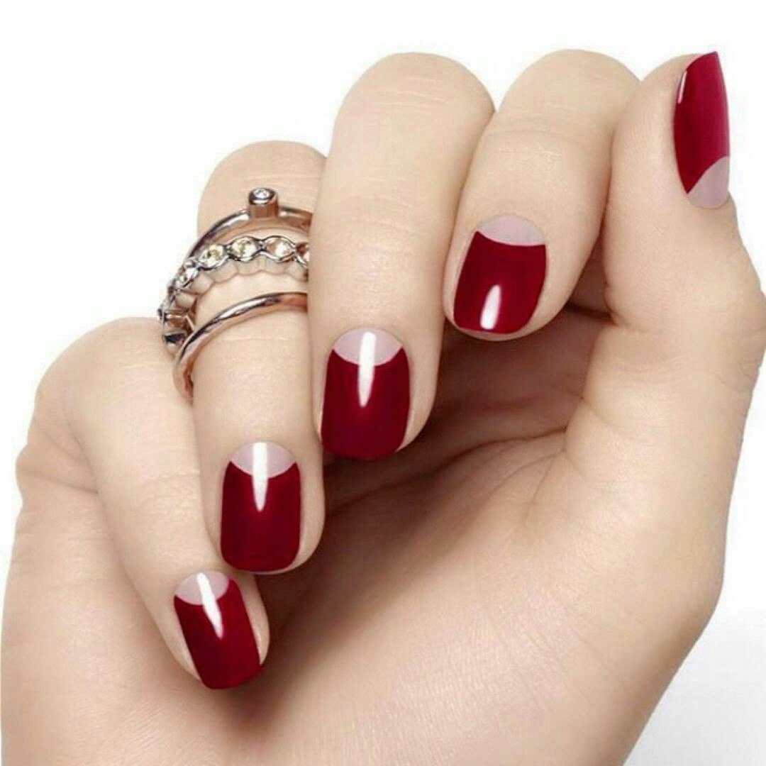 oval acrylic nails