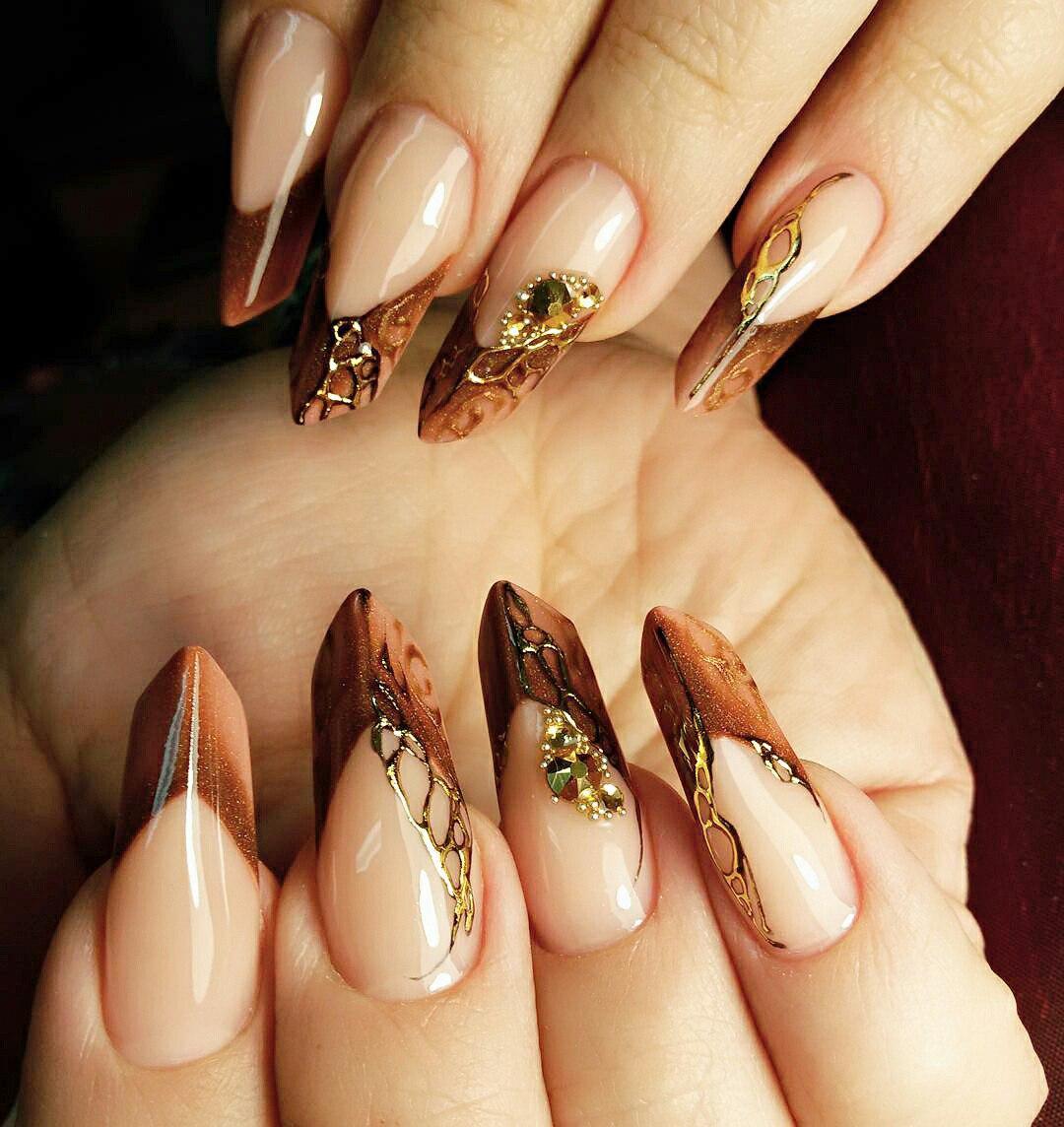 edge nail designs