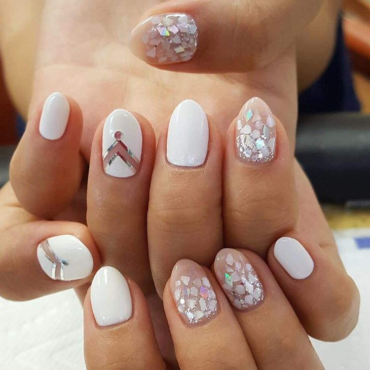 Nail polish strips 2017 striping tape manicure tutorial ladylife the classic version of the french manicure with a white strip on the top of the nail can be done by everyone at home and many girls just paint gold strips prinsesfo Choice Image