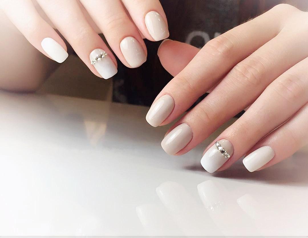 squoval nail art