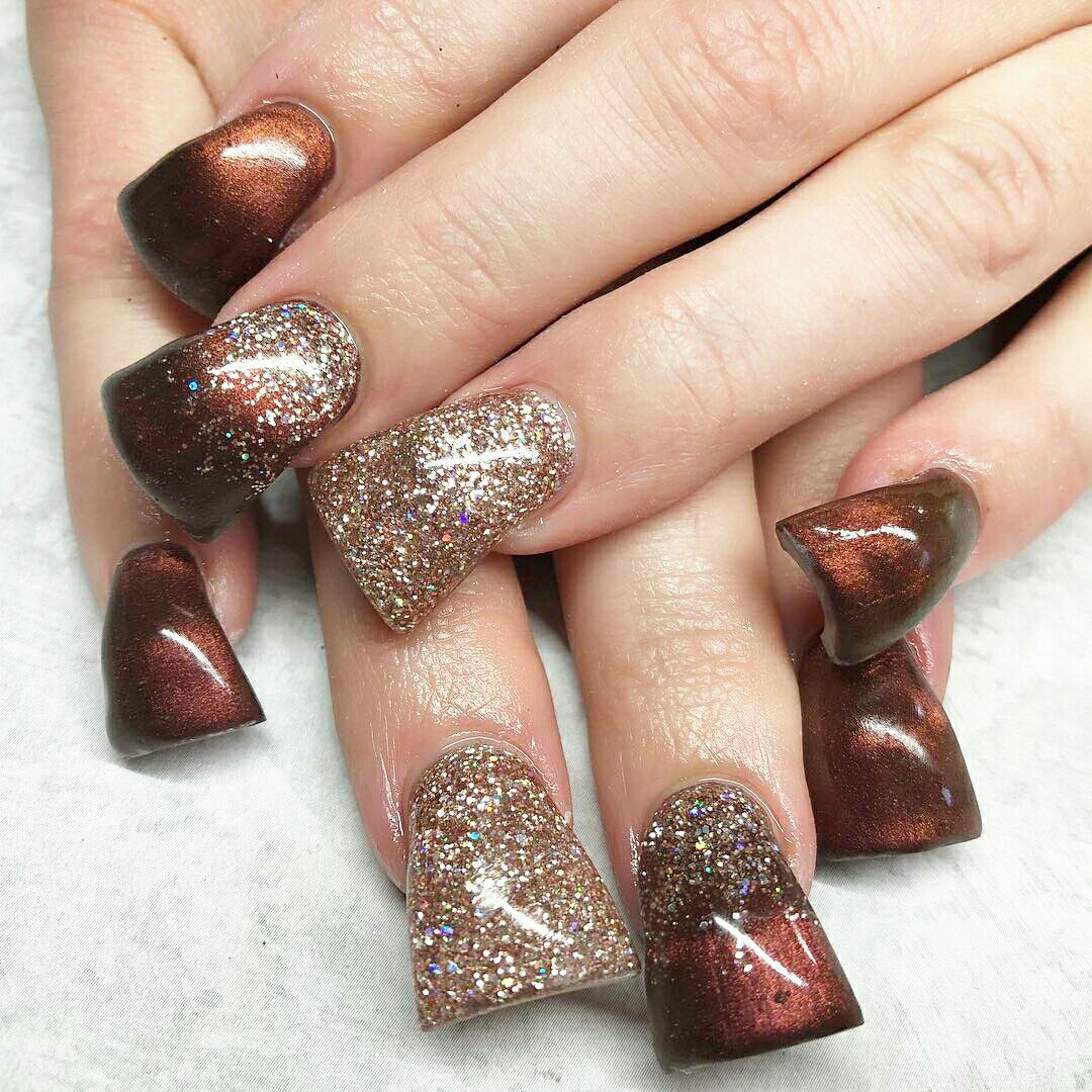 flared nails images