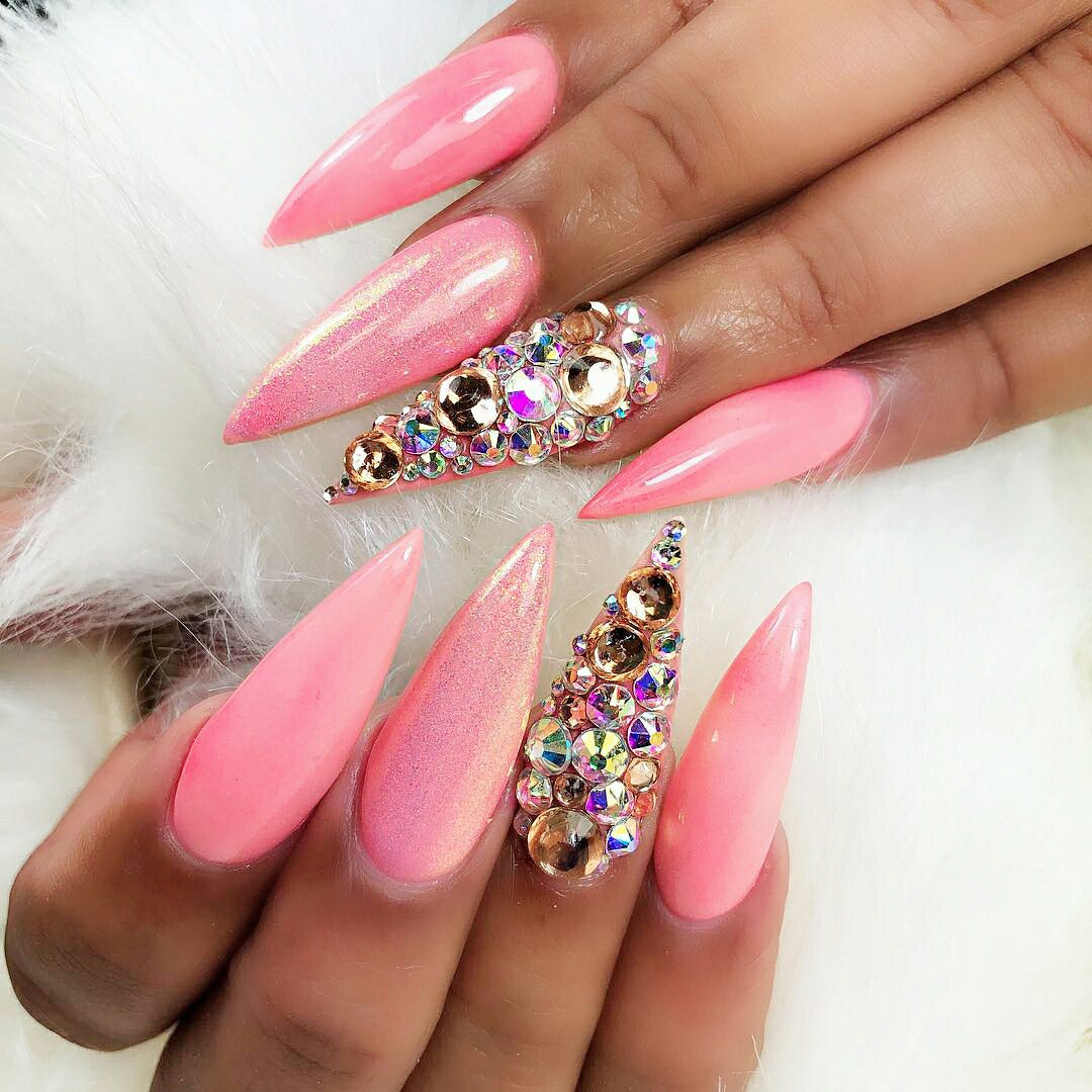 Stiletto Nail Shape | Best Nail Designs 2018