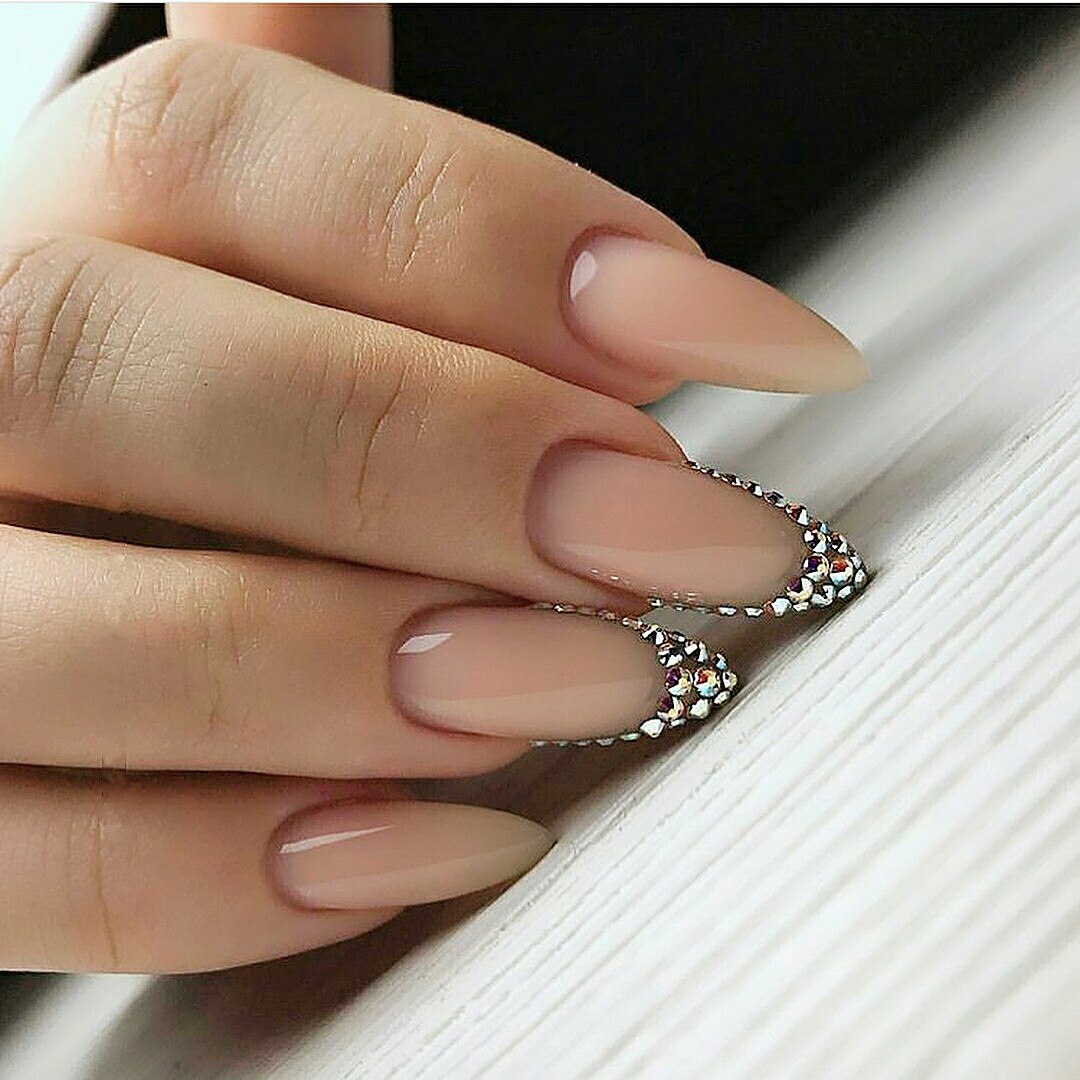 ... mountain peak nail shape - Nail Shapes 2018: New Trends And Designs Of Different Nail Shapes