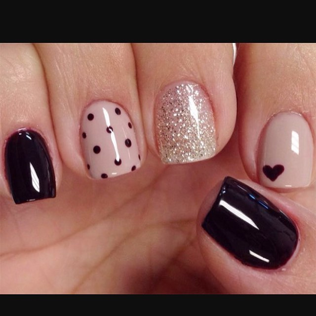 Nail Art With Dotting Tool Designs