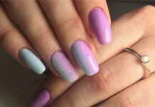 Gradient Nails Art Tutorial How To Do Gradient Glitter Nails Ladylife
