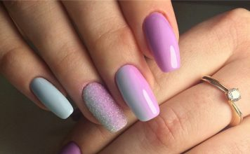 Gradient nails art tutorial how to do gradient glitter nails gradient nails art tutorial how to do gradient glitter nails prinsesfo Gallery