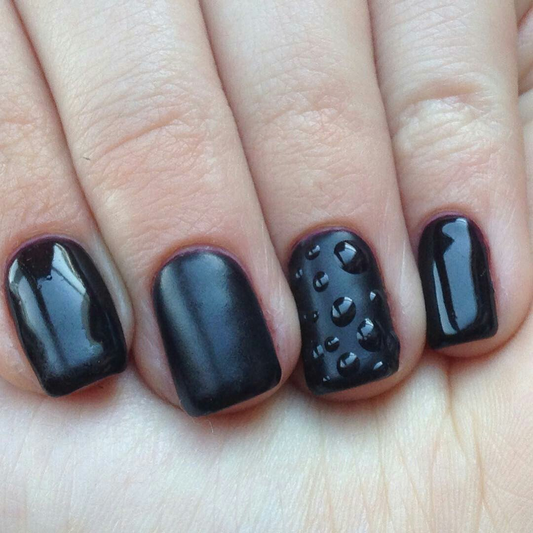 Water Drop Nails: How to Do Water Droplet Nail Art | LadyLife