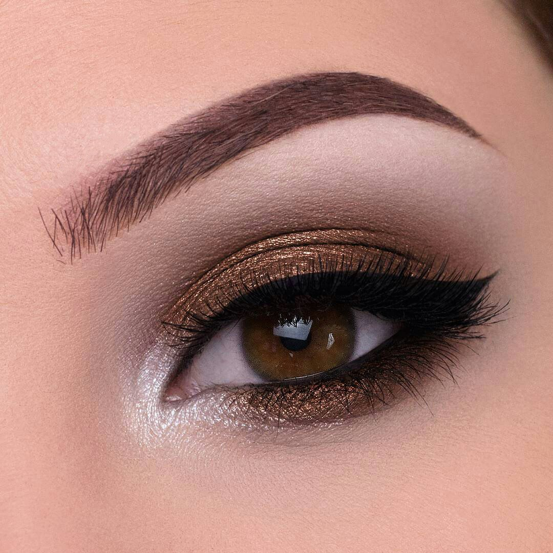 The eyebrows play a big role in eye makeup too  If your eyebrows are not  groomed  treat them  Use tweezers and remove extra hairs that are situated  outside. How to Make Your Eyes Look Bigger With Makeup    LadyLife