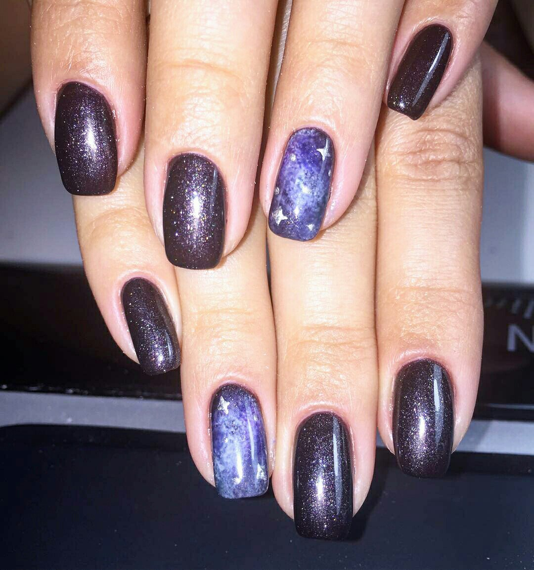 Purple galaxy nails with tutorial feat zoya payton space nails how to do galaxy nails art best design with tutorial ladylife how to make galaxy prinsesfo Gallery