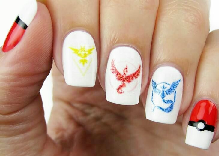 Pokemon nails art best design tutorial ladylife pokemon nails is a new direction in nail art and while the entire country runs a fever from pokemons you can be the most stylish and biggest fan with prinsesfo Choice Image