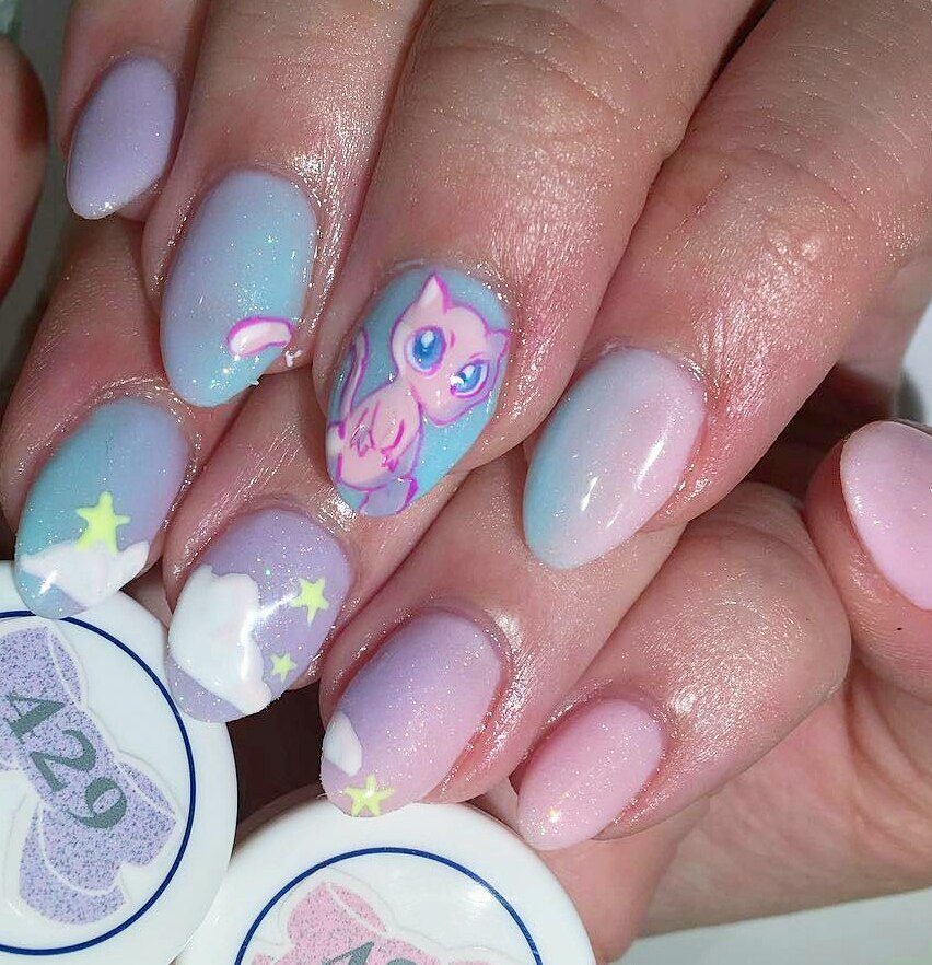 Pokemon nails is a new direction in nail art. And while the entire country  runs a fever from pokemons, you can be the most stylish and biggest fan  with ... - Pokemon Nails Art: Best Design Tutorial LadyLife