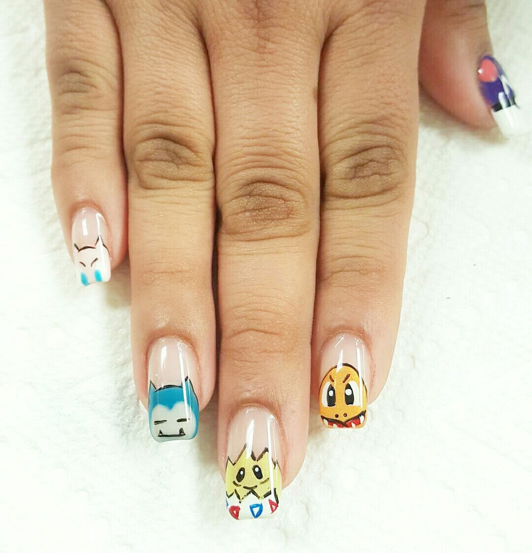 Pokemon Nails Art: Best Design Tutorial | LadyLife