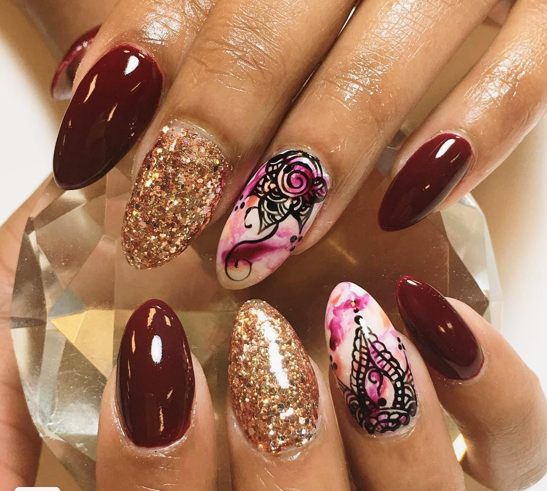How To Apply Henna On Nails: Great Design With Tutorial | LadyLife