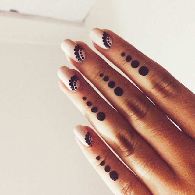 how to get henna off nails
