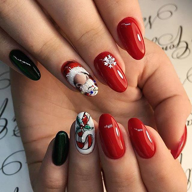 New years nail designs 2018 best art ideas for nails color ladylife this all can be painted on the nails and become an essential part of the gel nail designs for new years those who cant draw straight lines or have prinsesfo Image collections