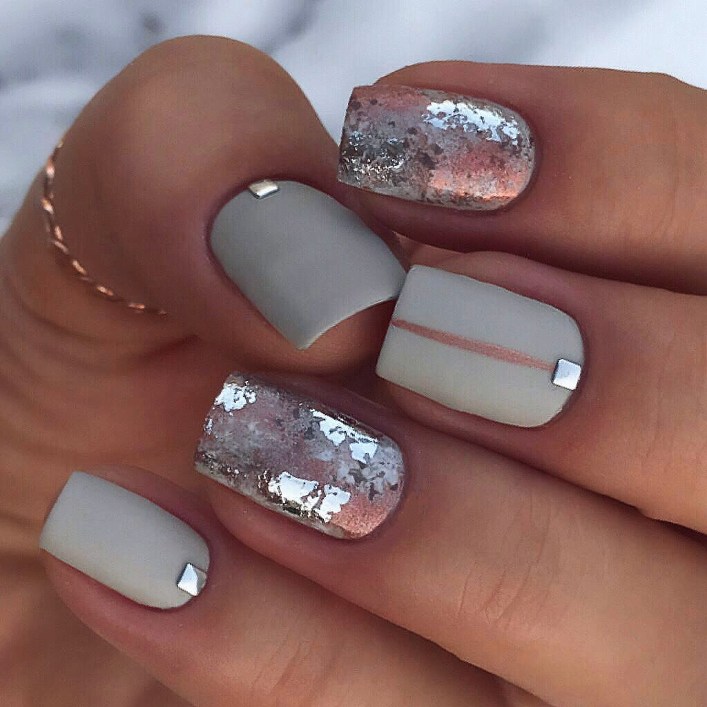 Winter Nail Designs 2018 Cute And Simple Nail Art For Winter Ladylife