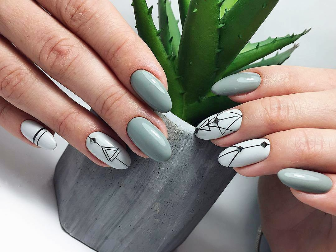 Spring nail art 2018 cute spring nail designs ideas ladylife in spring 2018 many designers offer to combine the french and moon nail designs this combination looks very stylish especially on short and medium length prinsesfo Gallery