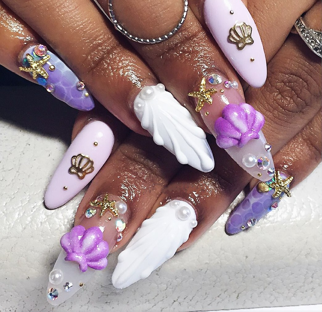 3d nails pictures