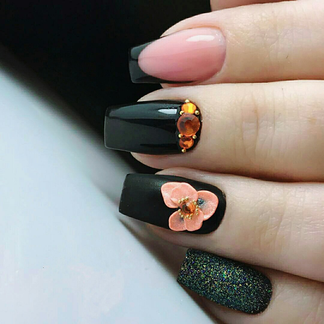 how to make 3d flowers on nails