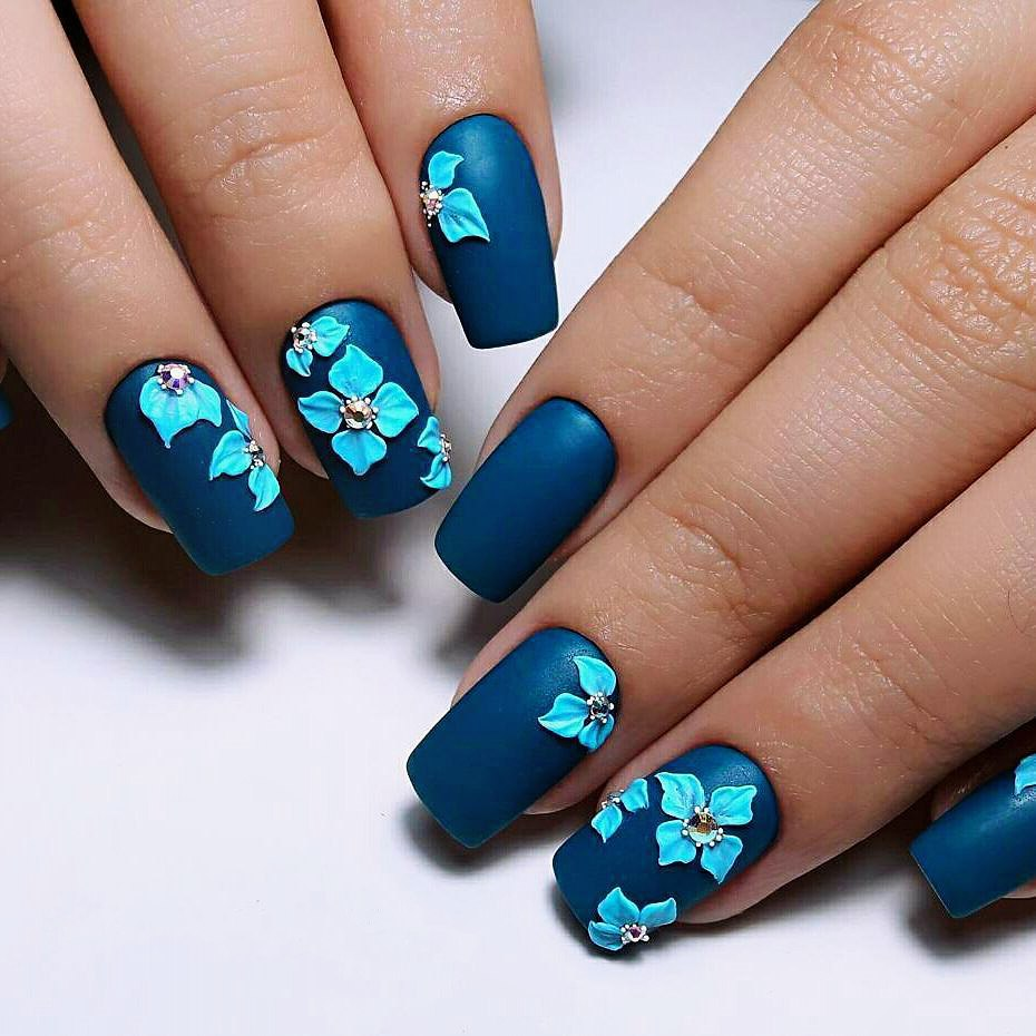 3D Rose Nail Art - How To Make 3D Nail Art: 3D Nail Designs With Best Tutorial LadyLife