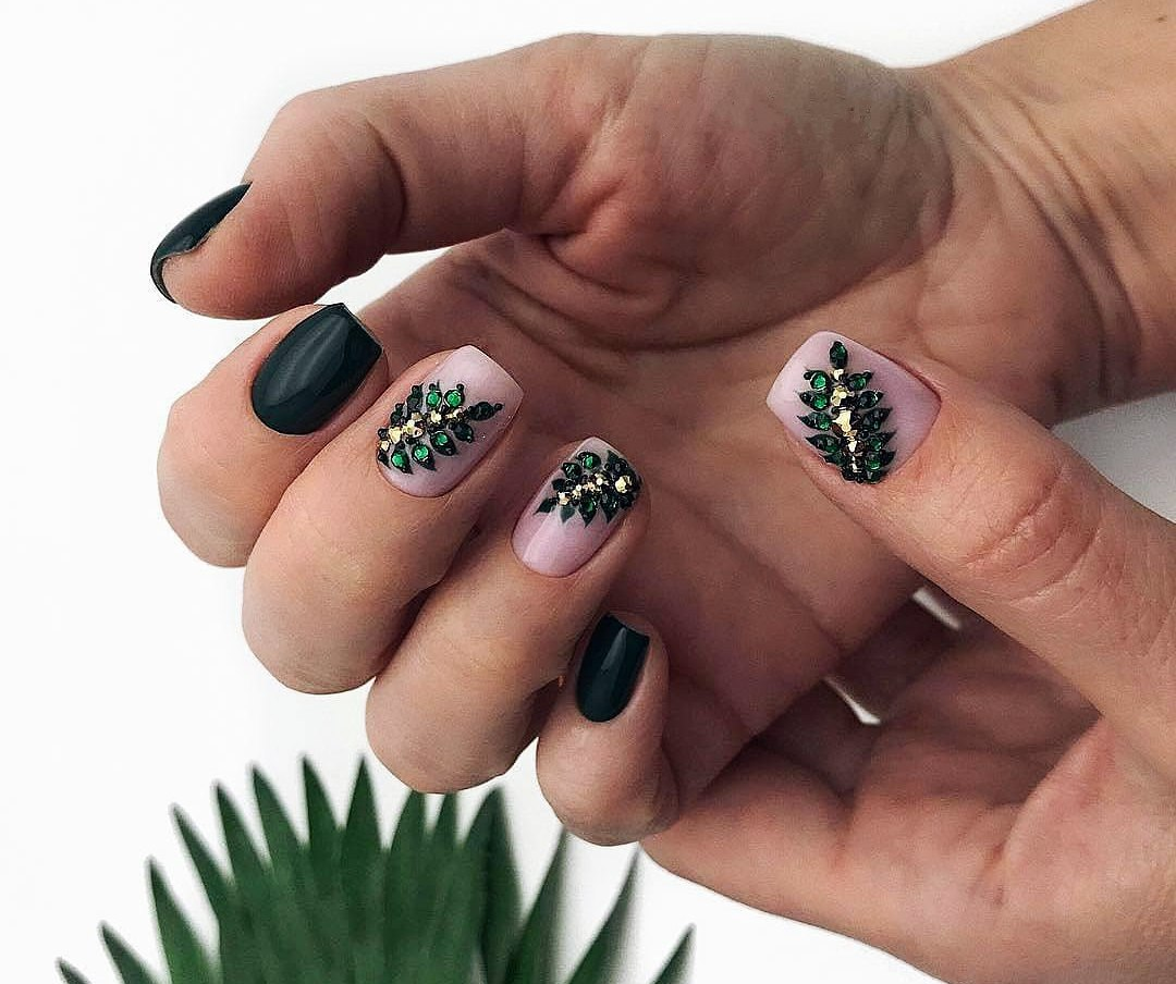 Look - Stylish simple nail art video