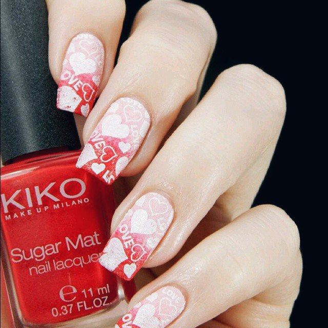 100 Best Valentine`s Day Nail Designs Ideas You Will Love | LadyLife