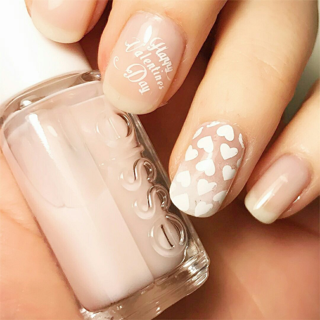 cute easy valentine nail designs