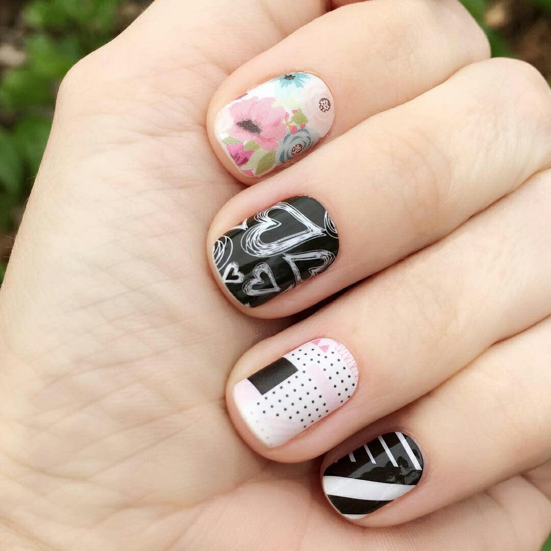 valentines manicure