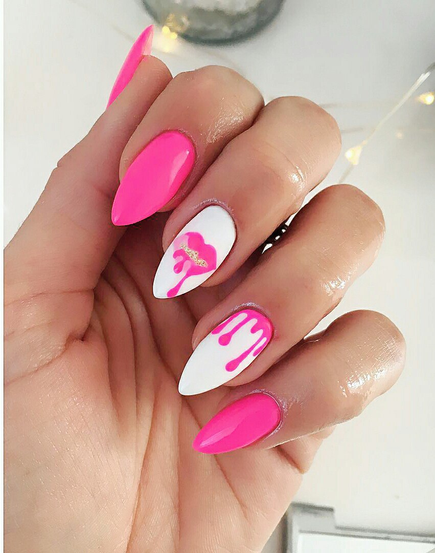 cute nail designs valentines day
