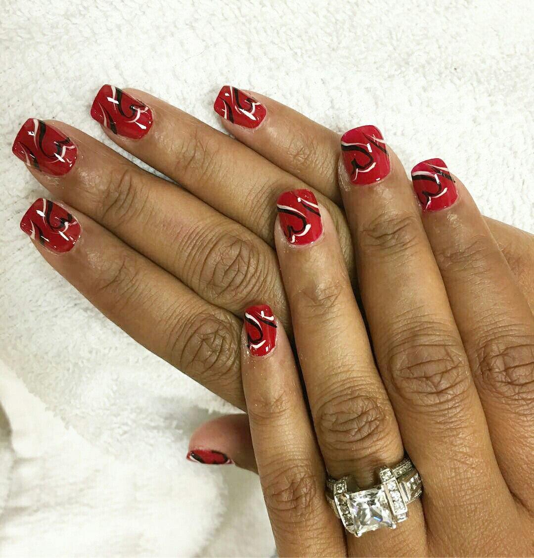 valentine manicure ideas