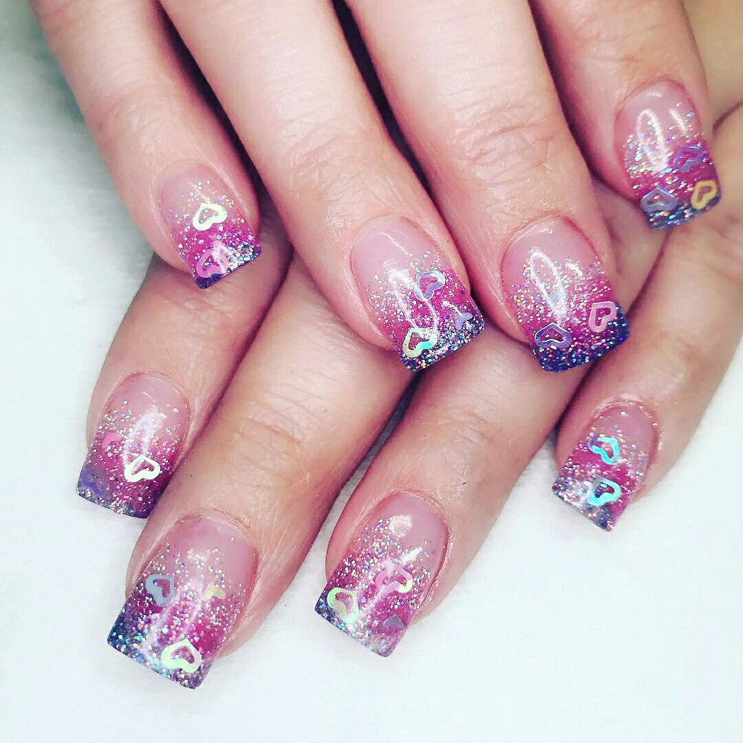 nail designs valentines