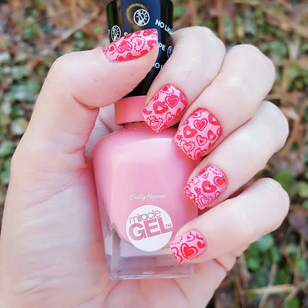 valentine nail design ideas