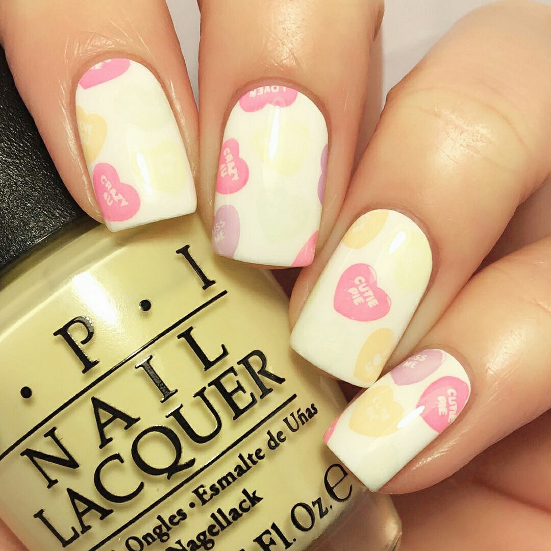 valentine nail art pictures