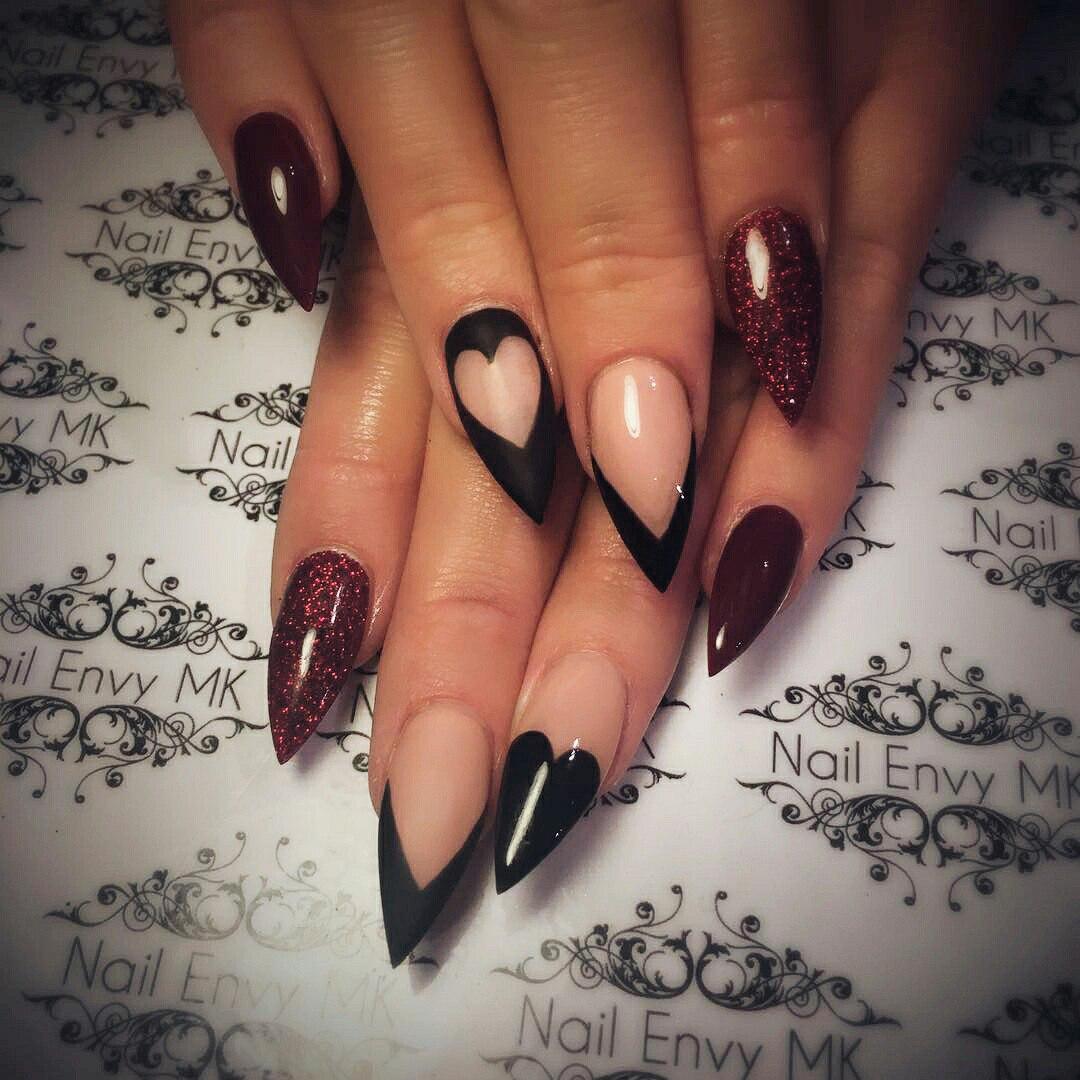 valentine nail ideas