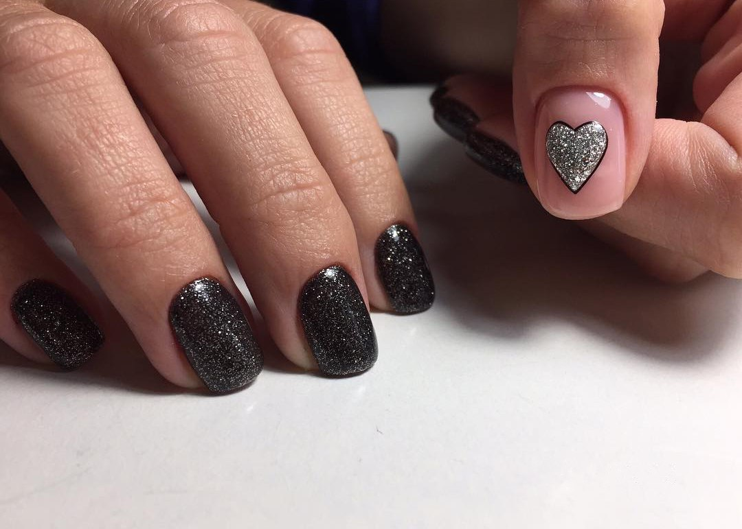 valentine nail designs pictures