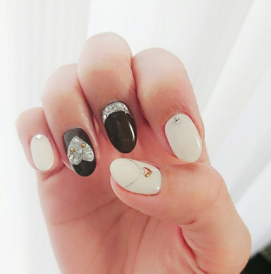 nails valentine design
