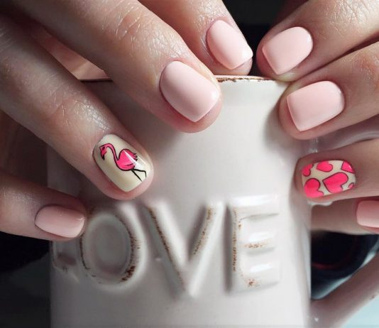 Valentine`s day nail designs gallery