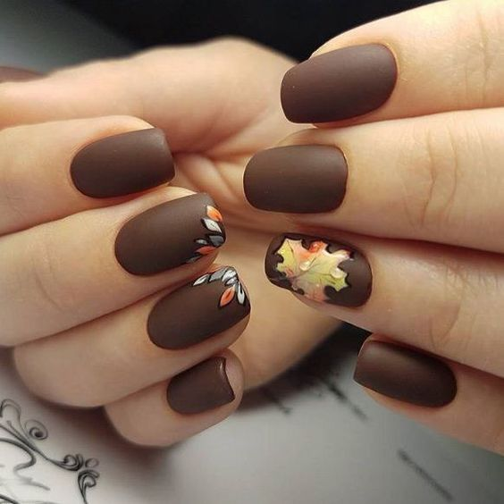 Fall Nail Designs 2018 40 Cute Fall Nail Art Ideas Ladylife