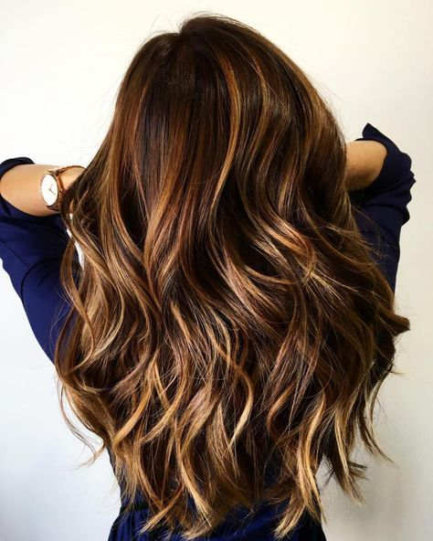 Brown Hair with Highlights: 23 Best Highlights for Brown Hair | LadyLife