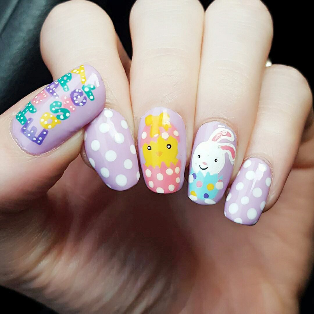 Easter Nails 2018: Cute Designs Ideas with Images | LadyLife