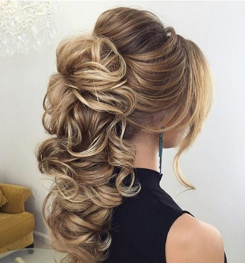 30 Stunning Wedding Hairstyles Ideas In 2019: Homecoming Hairstyles 2019: Cute Hairstyles For Homecoming