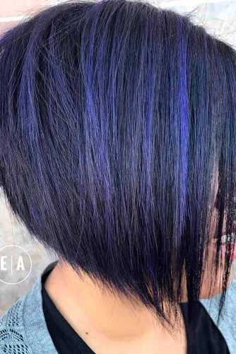 Black and Blue Bob